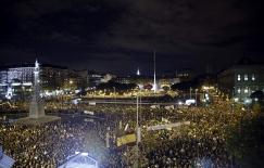 MANIFESTACIÓN EN MADRID CON MOTIVO DE LA HUELGA GENERAL