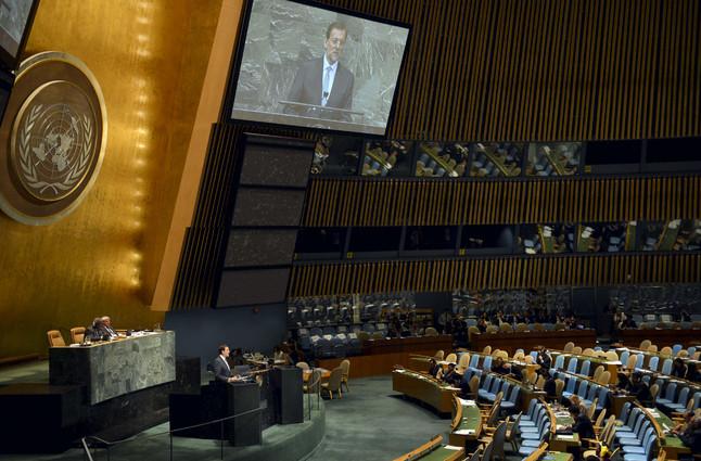 RAJOY ASISTE A LA 67ª ASAMBLEA GENERAL DE NACIONES UNIDAS