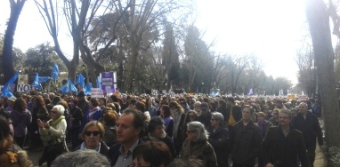 Tren_de_la_libertad_gristos_contra_Ana_Mato