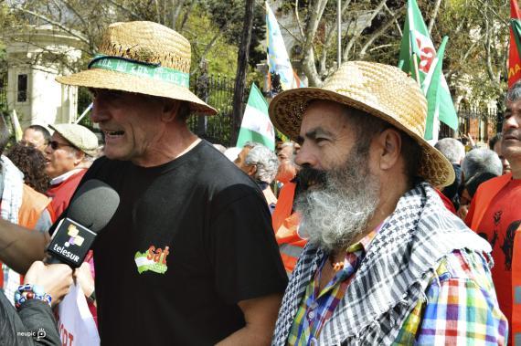 """COMIENZA LA LLEGADA DE PARTICIPANTES EN LAS """"MARCHAS DE LA DIGNIDAD"""""""