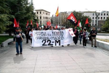 Marcha de la Dignidad Granada 1