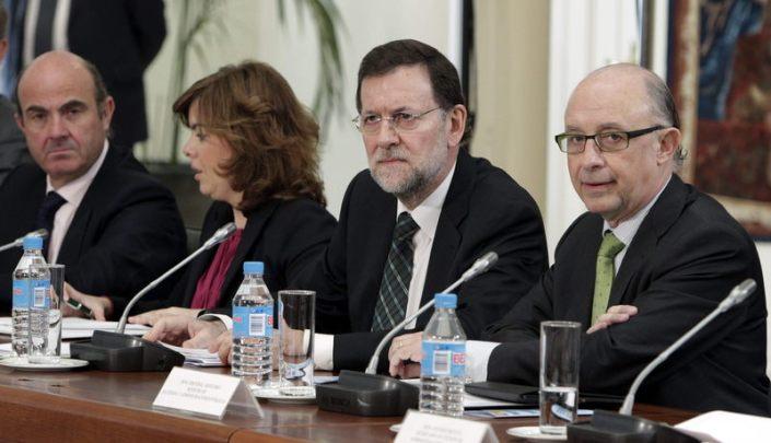 Rajoy MOntoro y De guindos