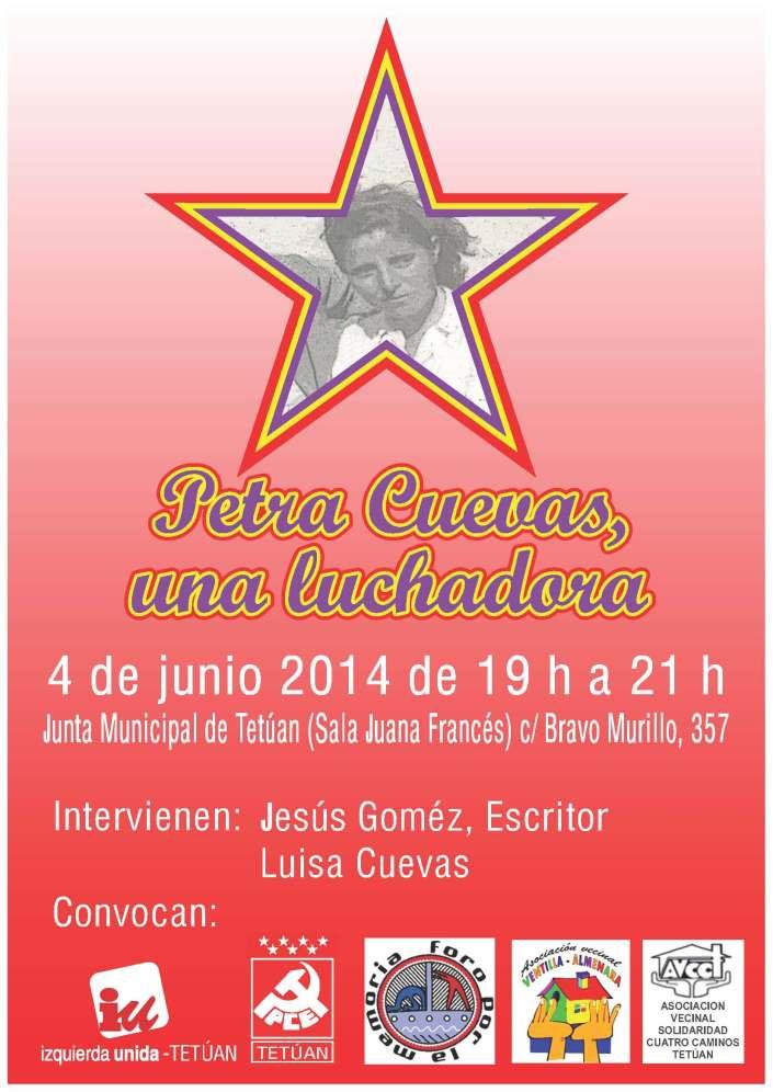 Petra Cuevas 4-6-14