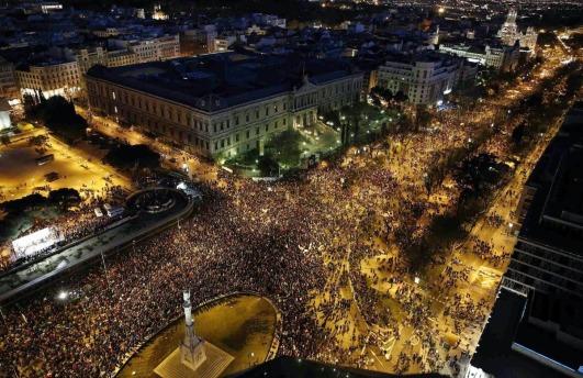 """Madrid, capital de la gloria (""""Marchas de la Dignidad"""", 22 de marzo de 2014)"""